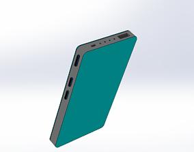 rigged power bank mock up 3d model