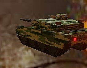 3D asset military tanker