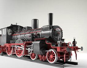Prussian P4 BR36 Steam Locomotive 3D model