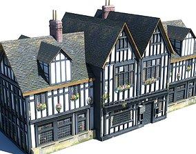 3D Lowpoly Building 812