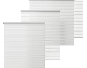 HUNTER DOUGLAS Silhouette two sizes 1200mm and 3D model 1