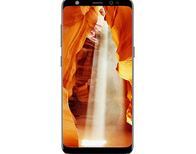 Galaxy S8 Gold 3D model