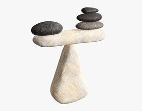 Balance stones 3D model