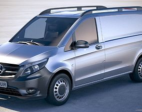 Mercedes Vito Short 2018 3D model