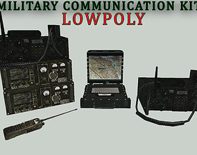 3D model Military Communication Kit Lowpoly