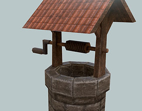 Basic Water Well Game Asset VR / AR ready