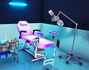 3D asset Realistic Medical Clinic