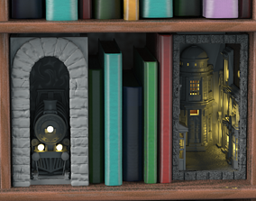 Magic Bookends 3D printable model