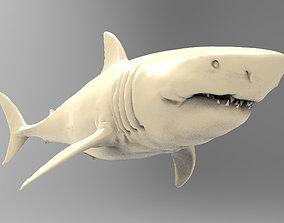 3D printable model Great White Shark