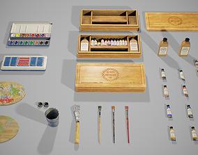 PBR Artist Set 3D model