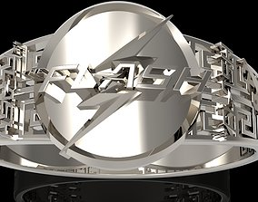 flash 3D printable model gold