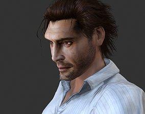 Javier B 3D model