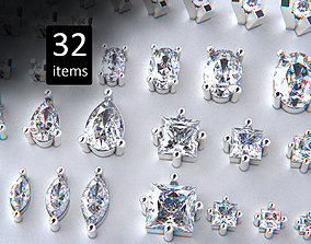 3D printable model Jewelry Heads Pack