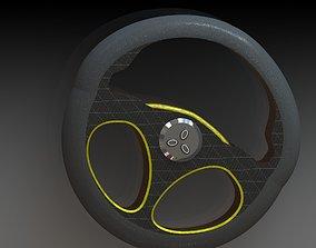 3D Steering Wheel Concept Design 1