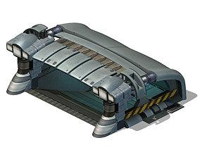 Space - Garage Entrance 02 3D