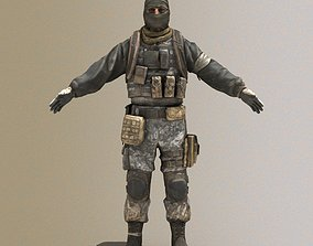 Military Soldier 3D asset