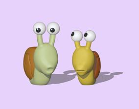 Snails 3D printable model