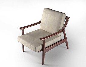 3D model Adam Chair