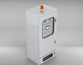 Pressure ventilation explosion-proof cabinet 3D