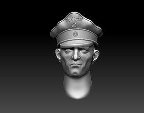 3D printable model head 6