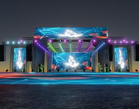 3D Concert Stage concert
