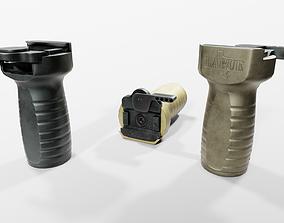 Larue Tactical FUG Forward Universal Grip 3D asset