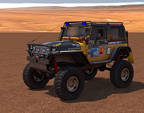 Jeep Wrangler Custom Off-Road 3D model