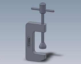 3D printable model C Clamp