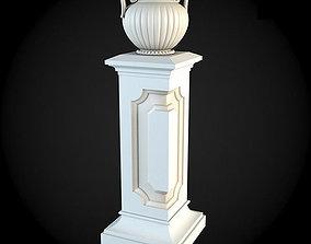 Pedestals design 3D