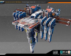 Colony Observatory Platform CF6 3D model
