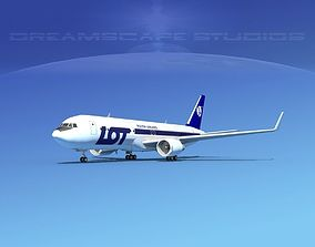 Boeing 767-300 LOT Polish 3D model