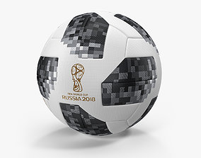 3D model Soccer Ball FIFA World Cup Russia 2018