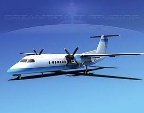 3D model DeHavilland DHC-8-Q300 Corporate 3