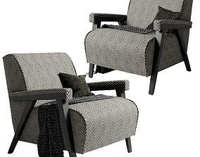 3D Armchair Dantone