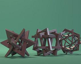 3D asset Orderly Tangles