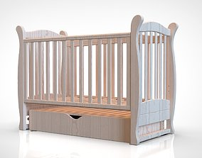 3D model mobile Baby cot