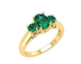 831 Diamond ring 3D printable model