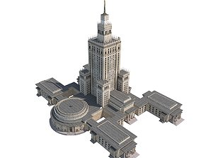 Monumental Skyscraper 3D model