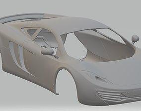 MC Laren MP12 Coupe Printable Body Car