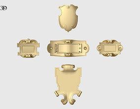 Mini Cartouche Set 3D printable model
