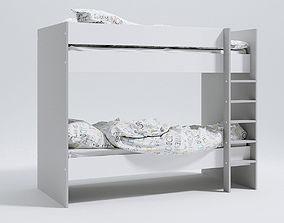 Bunk Bed 3D model