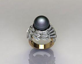 PEARL RING rings 3D print model