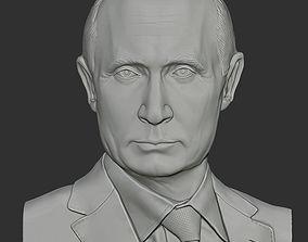 Vladimir Putin 3D printable model