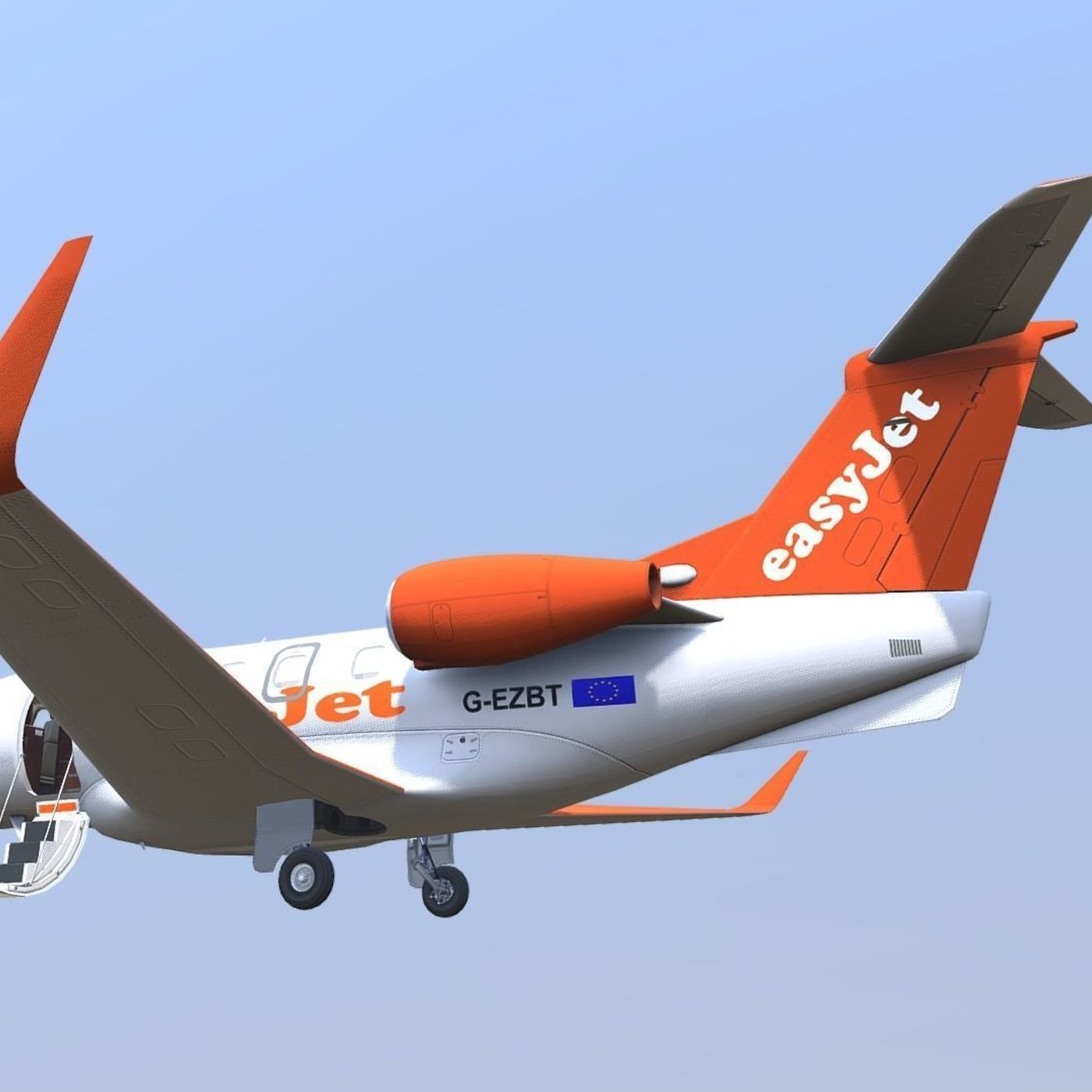 Now on sale! Ultimate Embraer Phenom 300 EasyJet