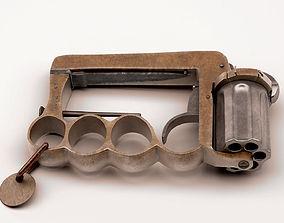 3D model Apache revolver