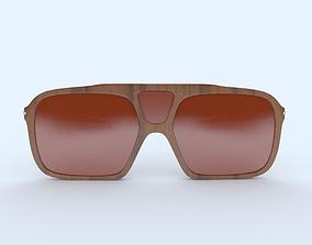 Sunglasses Wooden Brown Frame 3D printable model