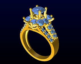 DIAMOND JEWELLERY 3D printable model silver