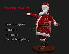 Santa Claus Comic 3D model