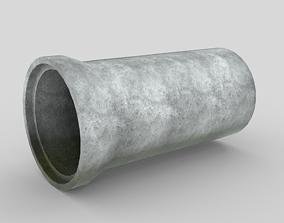 3D model Concrete Drainage Tube