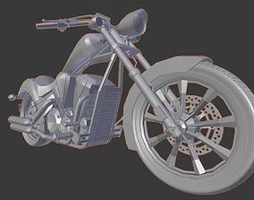 3D printable model Motorcycle High Quality poly